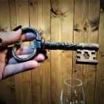 Key Shaped Corkscrew and Bottle Opener